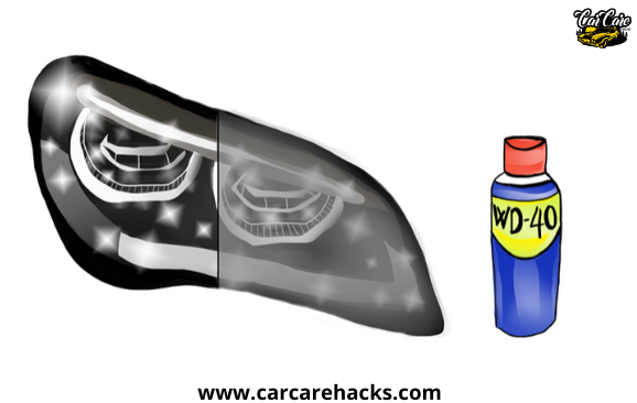 How To Clean Your Headlights With WD40