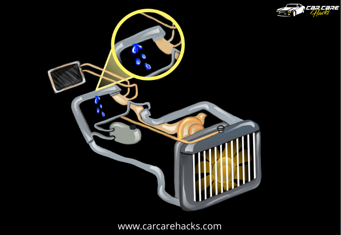 How To Cool Down Overheating Engine Fast - Leakage In The Cooling System