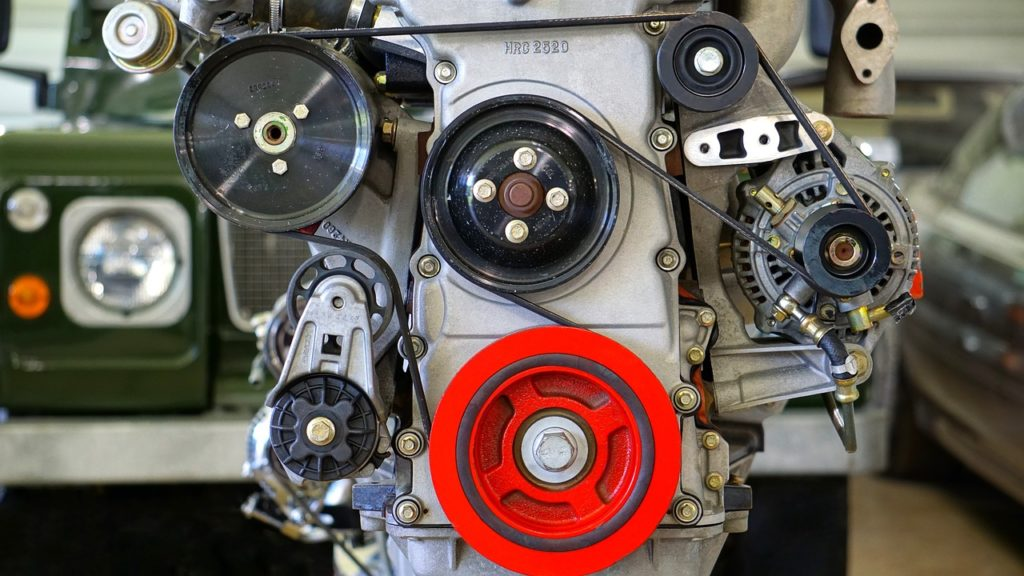8 Reasons Why Your Car Engine Making a Rattling Noise - Broken or Cracked Serpentine Belt
