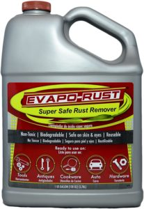 Best fuel tank cleaning product - Evapo-Rust rust remover