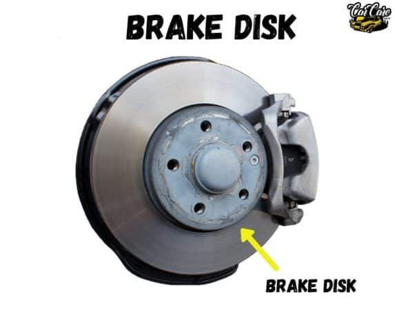 Parts Of Cars, Their Location and Function - Brake Disk