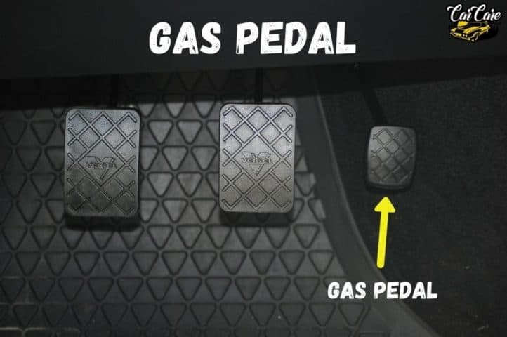 Parts Of Cars, Their Location and Function - Gas Pedal