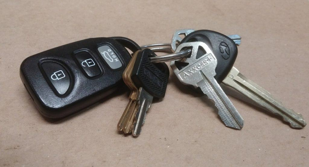 Parts Of Cars, Their Location and Function - Ignition Key