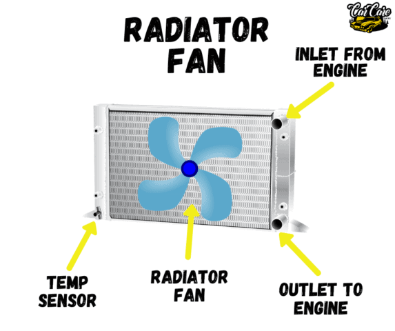 Parts Of Cars, Their Location and Function - Radiator Fan