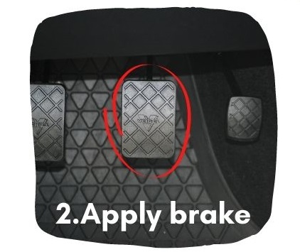 What To Do if Car Keeps Accelerating - Apply Brake