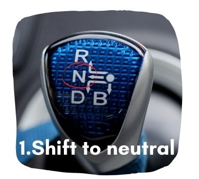 What To Do if Car Keeps Accelerating - Shift To Neutral